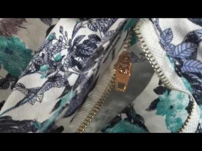Cómo arreglar una cremallera de pantalón sin saber coser