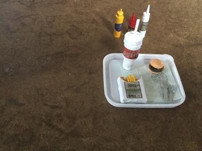 Cómo hacer comida rápida para tus Barbies, Monster High y Ever After High.