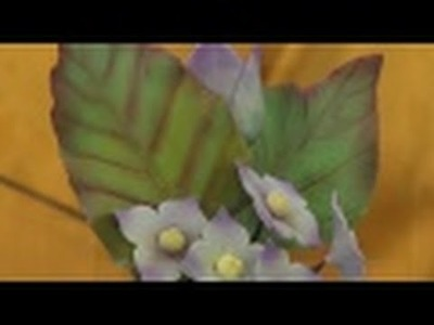 Como hacer Flores en Pasta de Azucar para Postres - Tartas - Hogar Tv  por Juan Gonzalo Angel