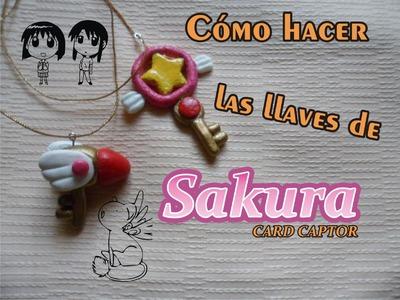 ¿Cómo hacer las llaves de Sakura Card Captor? Tutorial
