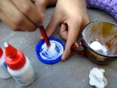 Como hacer slime sin borax ni almidon liquido