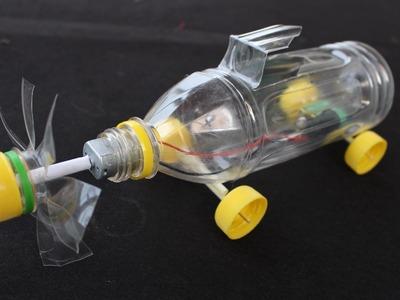 Cómo hacer un coche eléctrico ● botella de plástico