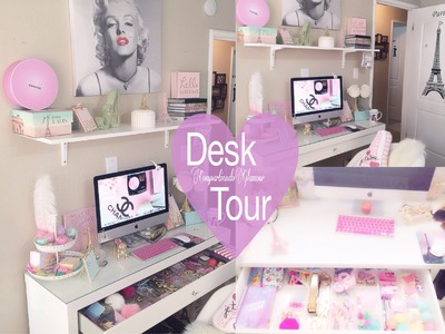 Desk Tour. Que Tengo en mi Escritorio. decor ideas 2016