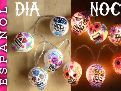 Guirnalda de luces Día de los muertos-Halloween