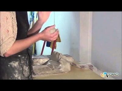 Preparar arcilla o barro para modelar - Curso cerámica