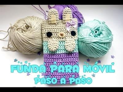 Reto 5: Cómo hacer una funda para móvil a crochet.