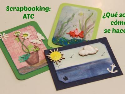 Scrapbooking: ATC ¿Qué son y como se hacen?