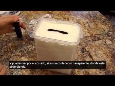 Toallas desinfectantes hechas en casa