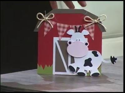 Invitación de cumpleaños - granja - 10.03.16