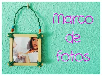 Marco de Fotos con Palitos de Helado| DIY | Sandrusqueta
