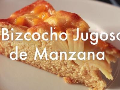 Bizcocho Jugoso de Manzana