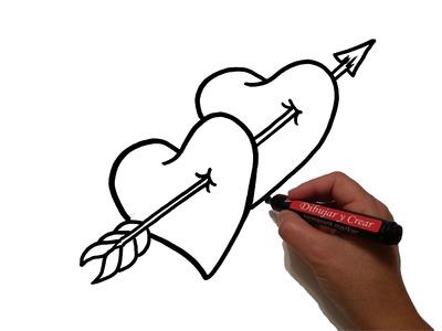 Como Dibujar Corazones Fecha San Valentin