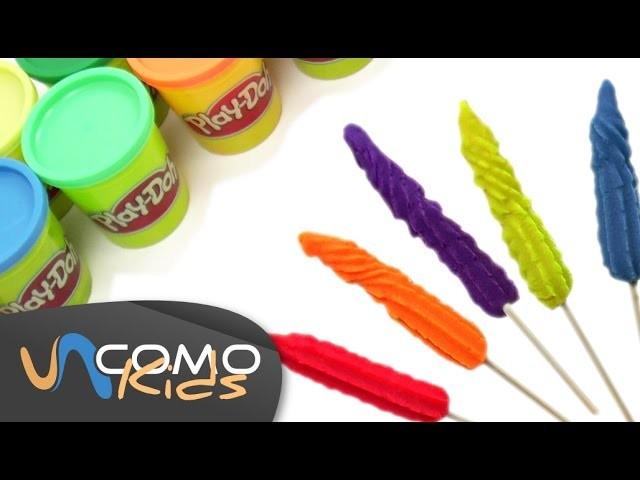 Cómo hacer helados Play Doh
