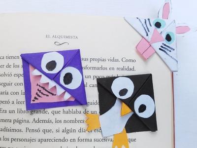 Como hacer separadores de papel kawaii para libros