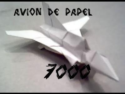 Como hacer un avion de papel en forma de nave espacial