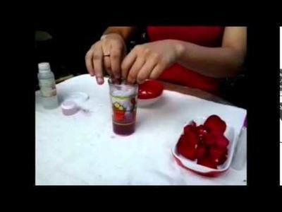 Como hacer un perfume de rosas