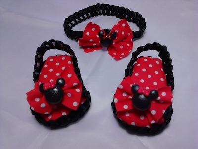 Como hacer zapatitos para Bebe # 3. Diy shoes baby