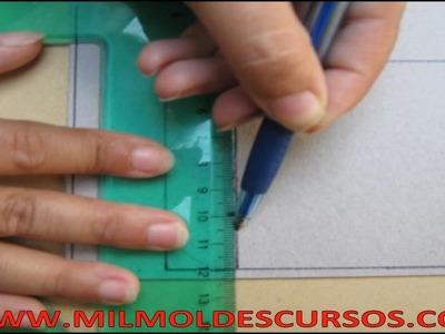 CURSO DE DISEÑO Y MOLDERÍA DE CARTERAS Y BOLSOS, Módulo 1