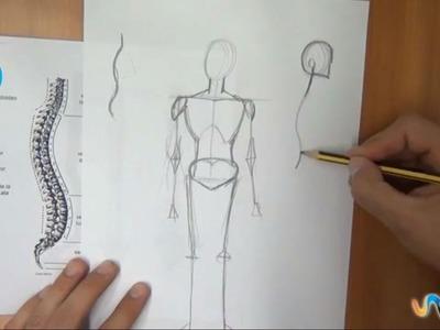Dibujar distintas posturas del cuerpo humano (3º parte)