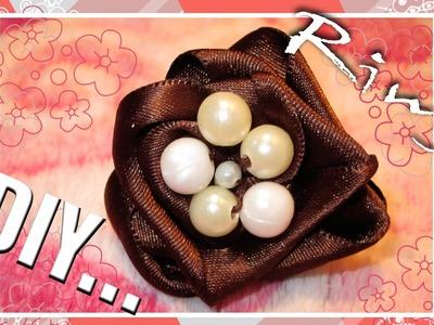 DIY: == Anillo de perlas y Lazo==