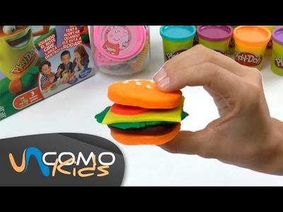 Hacer una Hamburguesa con Play Doh