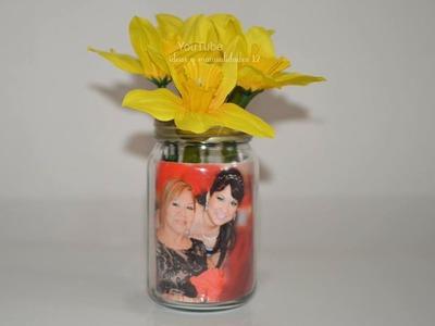 Ideas para regalar este dia de las madres Floreros con Fotos