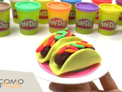 ¡Tacos de plastilina Play-Doh!