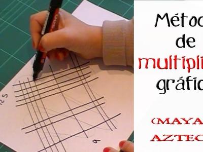 Multiplicar de manera gráfica: Metodo maya o azteca