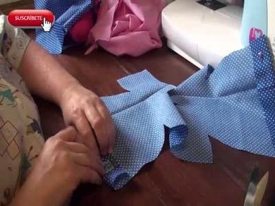 Muñecas de trapo. Camisa Hada
