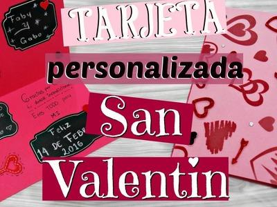 Tarjeta para regalar en San Valentin por Fantasticazul