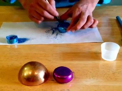 Técnica Espejo y Esfera en Isomalt
