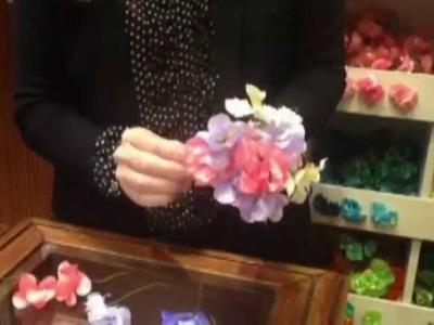 Cómo hacer un ramillete de flores de flamenca | Feria de Sevilla