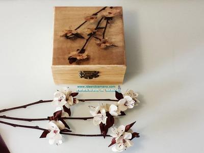 Cómo transferir foto a caja de madera