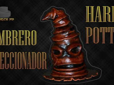 Tarta de Harry Potter: The Sorting Hat.El Sombrero Seleccionador
