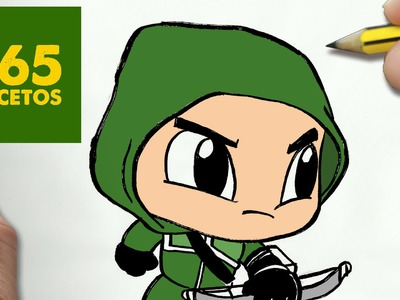 COMO DIBUJAR ARROW KAWAII PASO A PASO - Dibujos kawaii faciles - How to draw a ARROW