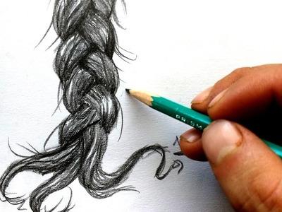Como dibujar cabello