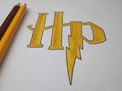 Cómo dibujar el logotipo de Harry Potter