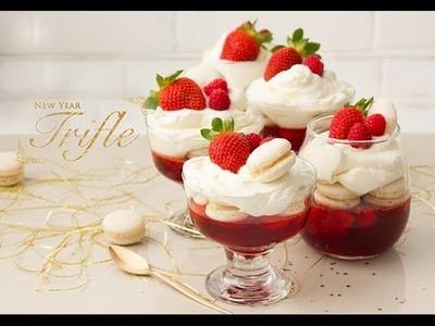 Cómo hacer un Trifle de Año Nuevo - New Year's Party Recipe Collaboration