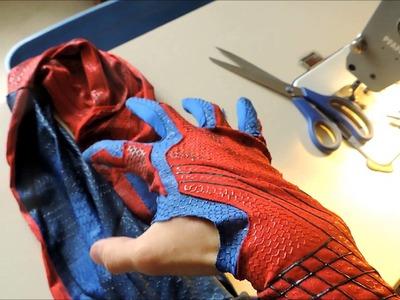Como se hizo el traje de The Amazing Spiderman