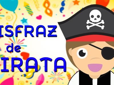Disfraz de pirata – Cómo hacer un disfraz de pirata para niños - Disfraces de carnaval
