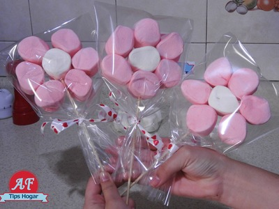Florecitas  de Bombon para San Valentin