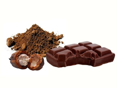 Hacer Jabón de Cacao con forma de tableta de Chocolate.