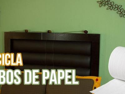 ¡Reciclar Tubos de Papel! | DIY | Ideas Geniales| SamuelKun