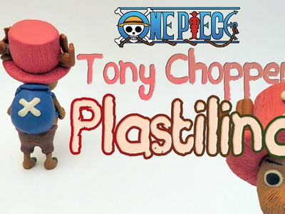 One Piece - Tutorial como hacer a Tony Chopper en plastilina porcelana fria clay