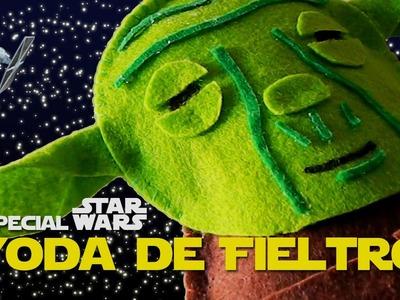 Peluche de Yoda Fieltro| Star wars VII  | Sandrusqueta
