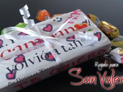 Regalo sencillo y economico para san valentin