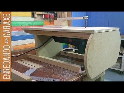 Soporte para sierra de vaivén de mesa sencillo