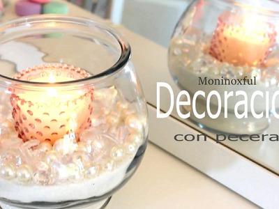 Tres Ideas - Decoración con pecera para el baño