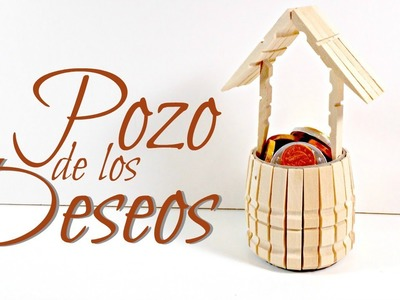 Tutorial: Pozo con pinzas de madera | Reciclaje | Mundo@Party