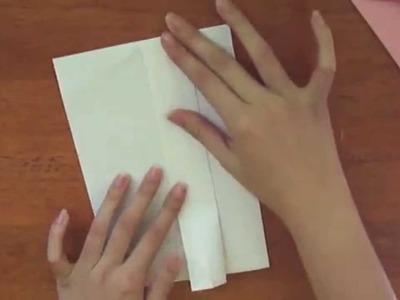 Tutorial- Sobre para carta (sin pegamento)
